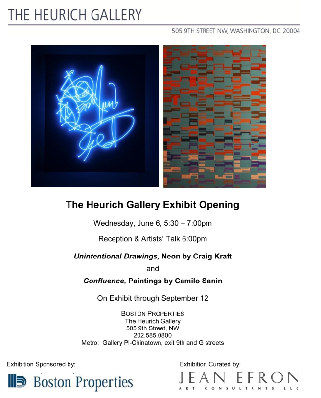Exhibit Opening at The Heurich Gallery on June 6, 2012